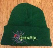 Goosebumps spiderweb beanie