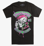 Curly Readers Revenge Kreepsville shirt front