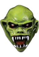 Goosebumps the haunted mask vacuform-mask 1