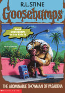 OS 38 Abominable Snowman Pasadena cover 1stprint