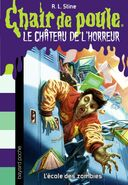 Why I Quit Zombie School - French Cover