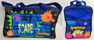 You Cant Scare Me Pyramid Duffle Bag 2sides