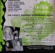 Topps Trading Cards ad from Scream Newsletter Vol 2 No 4 Spring 1996