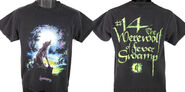 14 Werewolf Fever Swamp lrgtitle 90s black shirt f+b