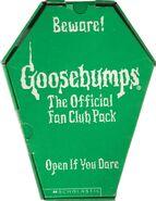 1996 Fan Club green coffin case front