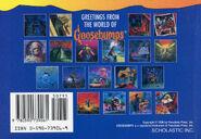 Goosebumps Postcard Book I back 1996