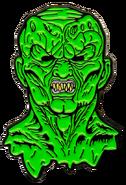 Goosebumps haunted mask pin