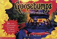 Goosebumps Postcard Book UK cover
