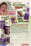 Goosebumps Collectors Club exp Dec 31 1998 from OS 59-62 sch ed