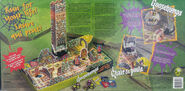 Night in Terror Tower Board game box back english + french