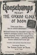 Presents TV ep 2 Cuckoo Clock of Doom bookad from GYG5 1stpr 1996