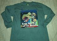 28 Keep Eye on Birdie Cuckoo Clock T-shirt