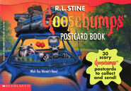 Goosebumps Postcard Book I front 1996