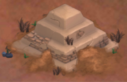 Nila's Buried Pyramid Goosebumps HorrorTown