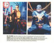Adam West Attack Mutant Goosebumps TV ep press photo