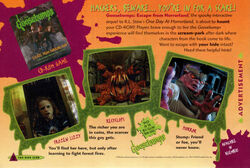 Escape from Horrorland game ad Fox Kids Mag Winter 1996.jpg
