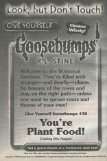 GYG 30 Youre Plant Food bookad from s2000 8 1998