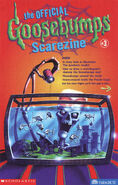 Official GB Scarezine 3 newletter cover