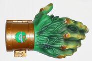 1996 Haunted Hand Doorknob cover unpkg front