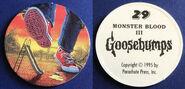 29 Monster Blood III 1995 Pog Cap f+b