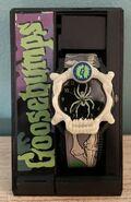 Spider Curly Glow Dark Nelsonic watch in pkg