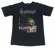 39 How I Got ShrUNkEN hEad black Giant T-shirt front