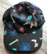 Goosebumps logo spiderweb eyes multi image hat