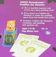 Cuddles pudding spew toy from 1996 Hasbro Catalog