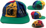 G-splat blue yellow green red snapback hat