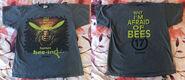 17 Why Im Afraid of Bees T-shirt f+b