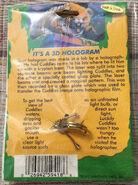 18 Monster Blood II Hologram ring back