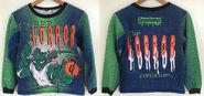 Cyber Horror continues 1995 sweatshirt f+b