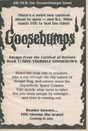 GYG 01 Escape Carnival Horrors bookad from OS32 1995 1stpr