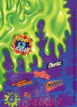 Goosebumps glow in the dark trading card check list back