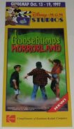 Horrorland Fright Show Disney Guide Map Oct 13-19 1997