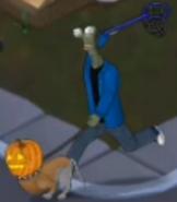 GTH alien pumpkin