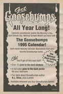 1995 wall calendar bookad from orig series 27 1995