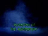 Phantom of the Auditorium/TV episode
