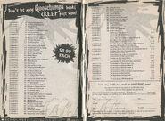 Goosebumps 1-62 booklist creep past from GYG 27