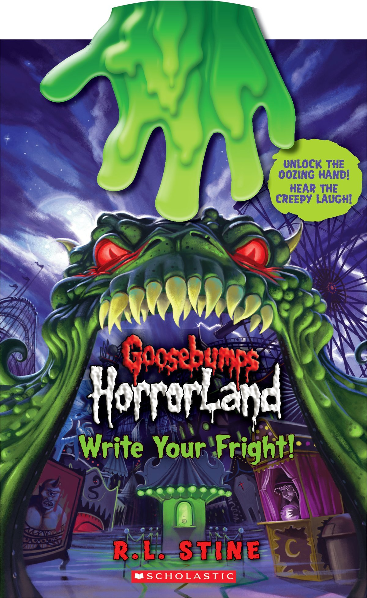 Write Your Fright!
