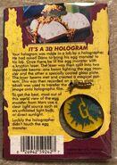 42 Egg Monsters Hologram necklace back