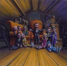 Night of the Living Dummy III - artwork