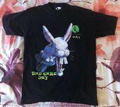 41 Bad Hare Day black t-shirt