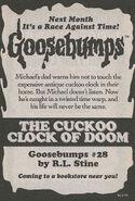 OS 28 The Cuckoo Clock of Doom bookad from OS27