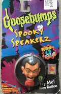 Slappy Spooky Speakerz in pkg front