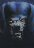 32 Barking Ghost Glow Dark Topps Trading Card