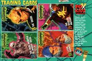 Goosebumps TV trading cards front TotallyKids Mag Autumn 1997