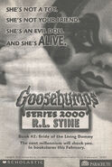 S2000 02 Bride of the Living Dummy bookad from s2000 01 1998