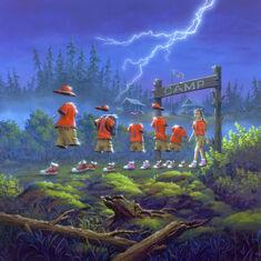 Ghost Camp - artwork