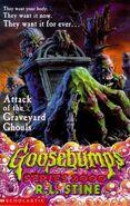 Goosebumps 2000 Attack of the Graveyard Ghouls Alternate Cover